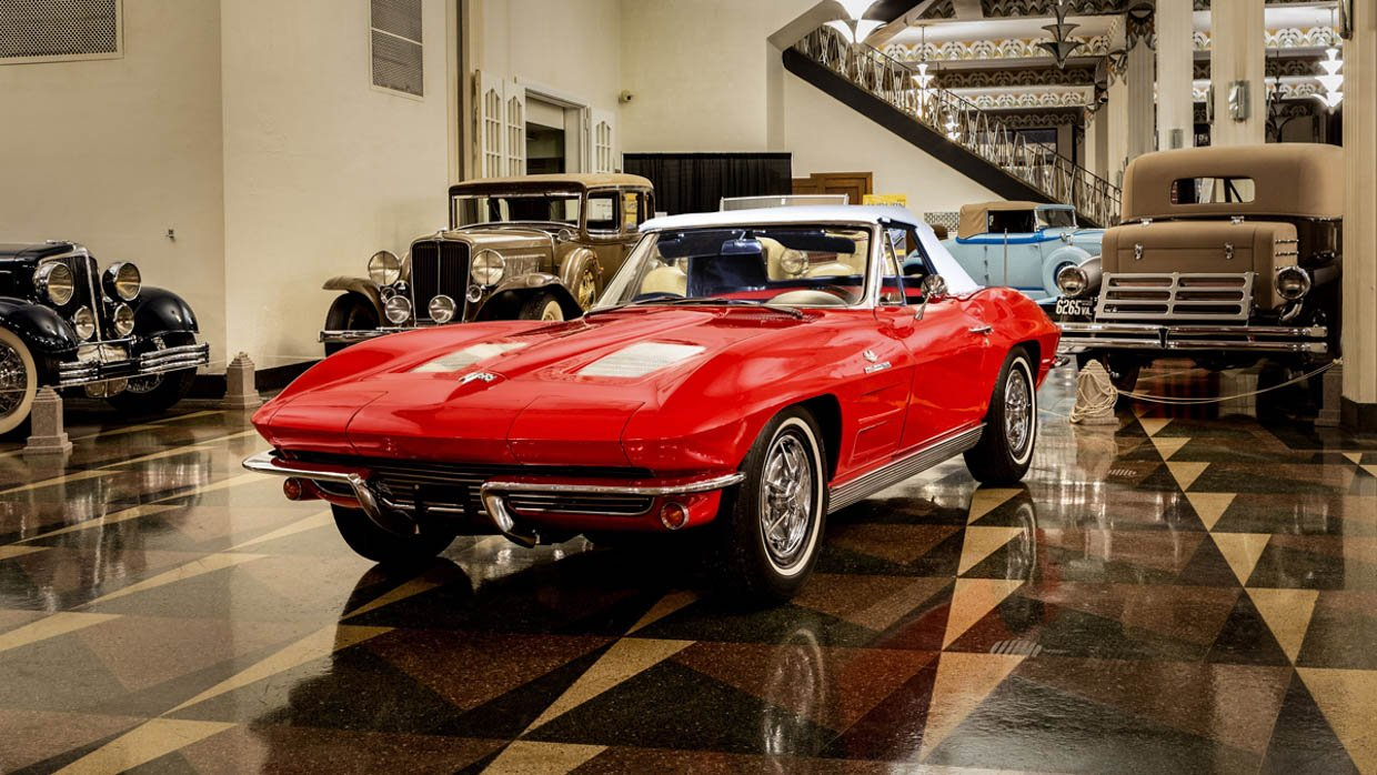 Win a 1963 Corvette Sting Ray Fuelie Convertible