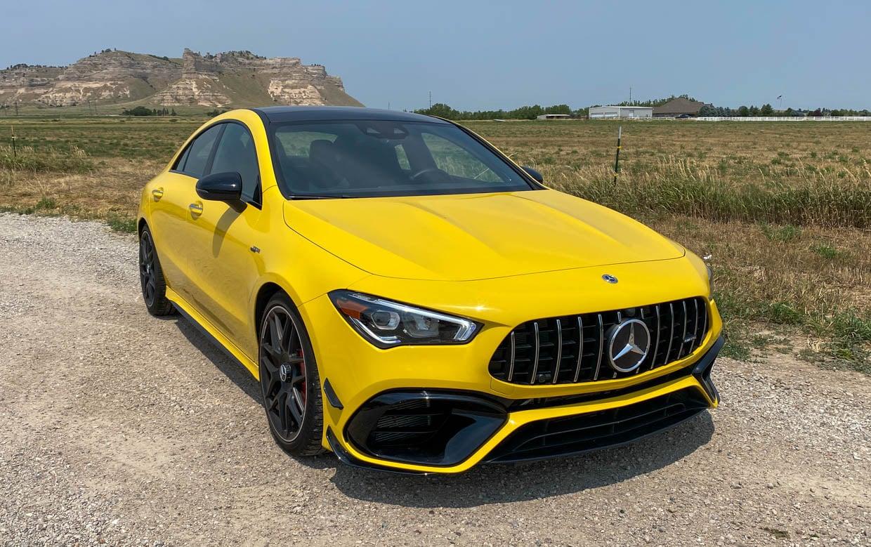 Driven: 2021 Mercedes Benz AMG CLA45