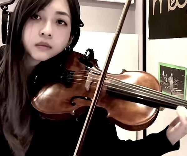 40oz on Violin