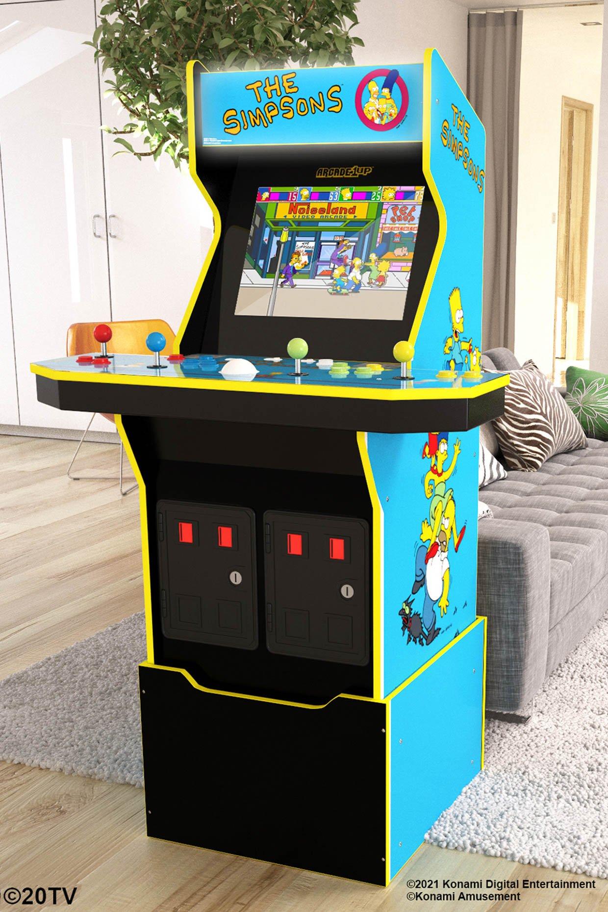 Arcade1Up The Simpsons Arcade Machine