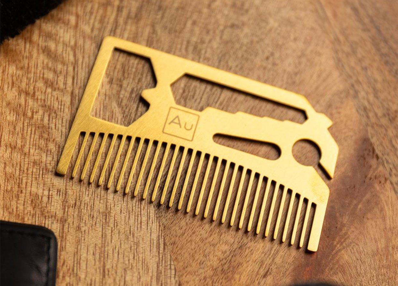 Beard Comb Multitool