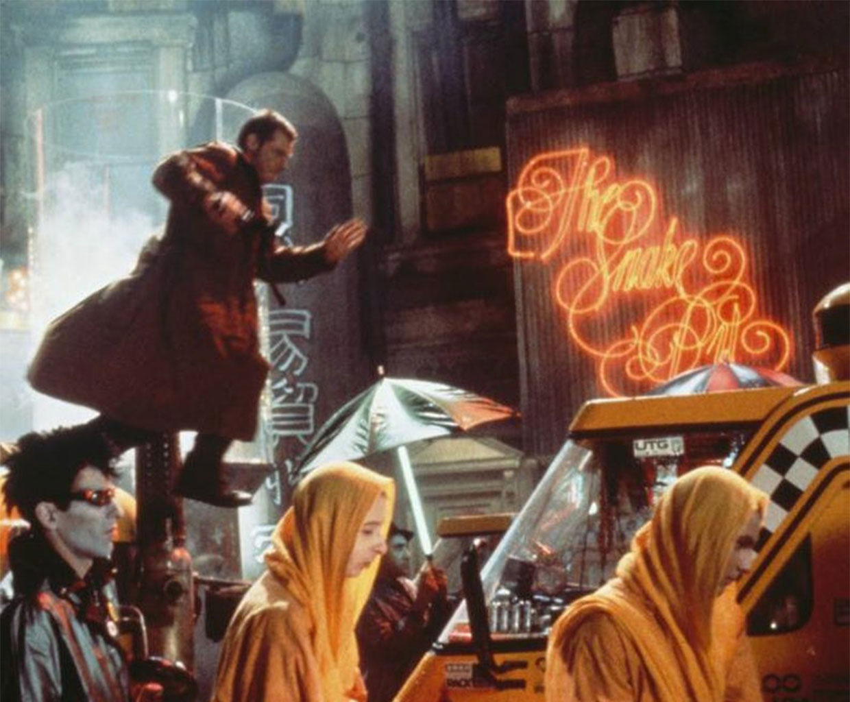 Blade Runner Neon Signs