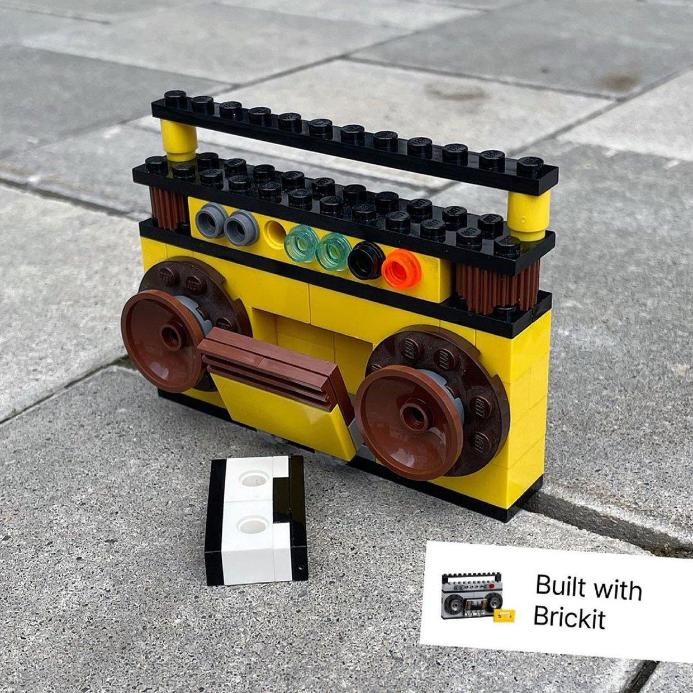 Brickit AR LEGO App