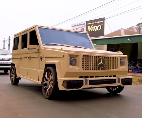 Cardboard G-Wagon