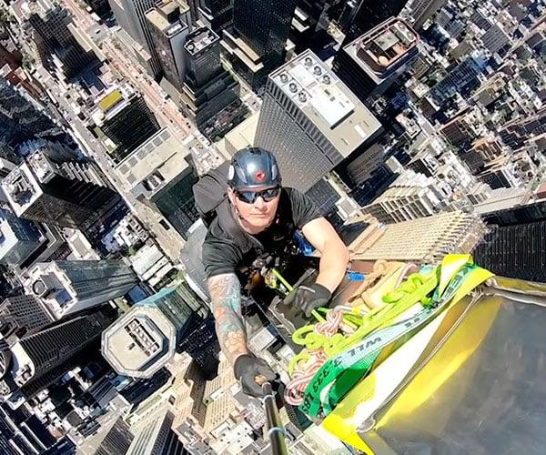 Climbing the Chrysler Building