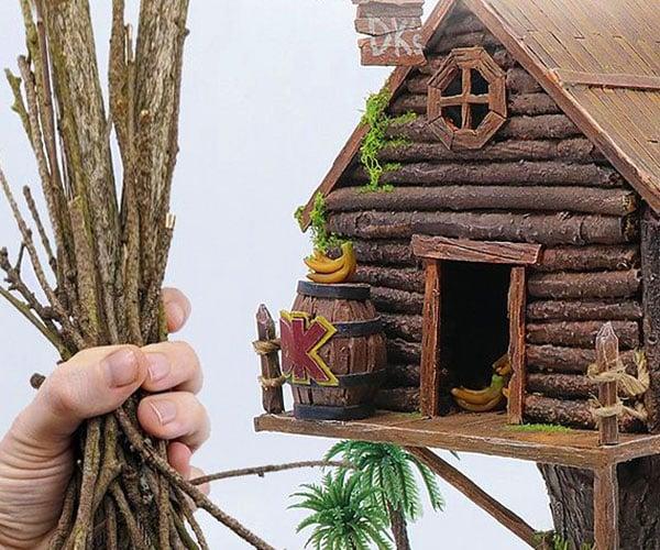 Making Donkey Kong's Treehouse