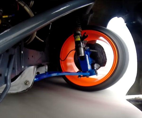 Drift Car Steering POV