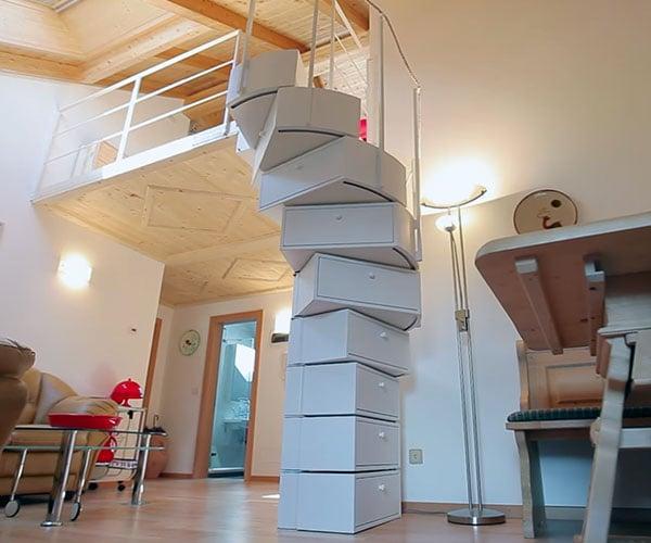 Transforming Spiral Staircase
