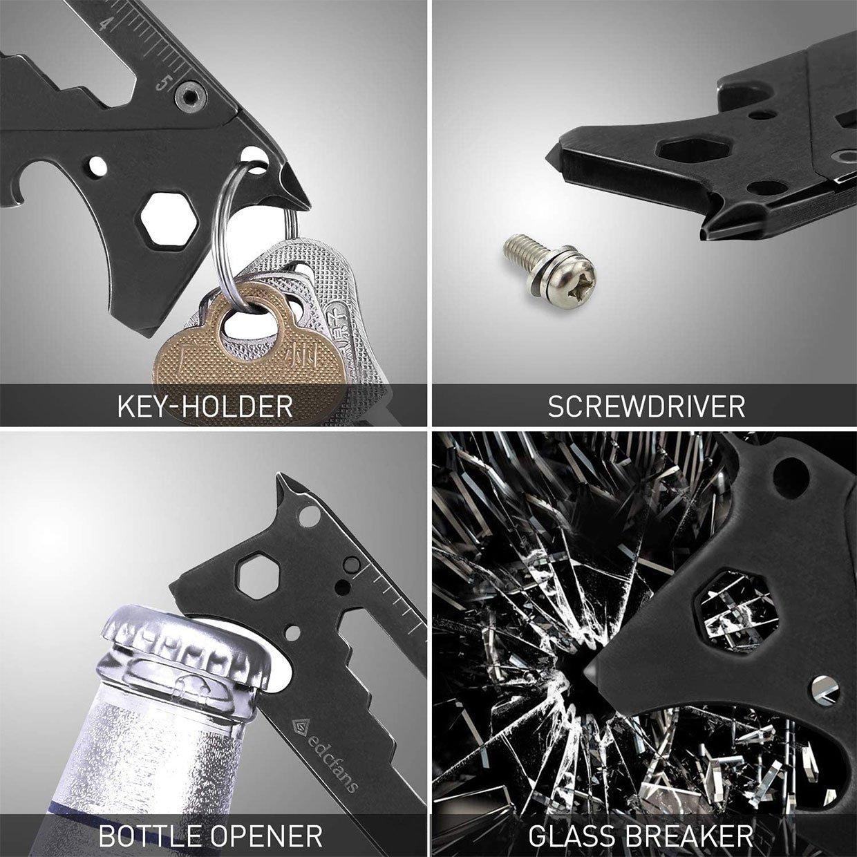 EDCfans Keychain Multitool Box Cutter