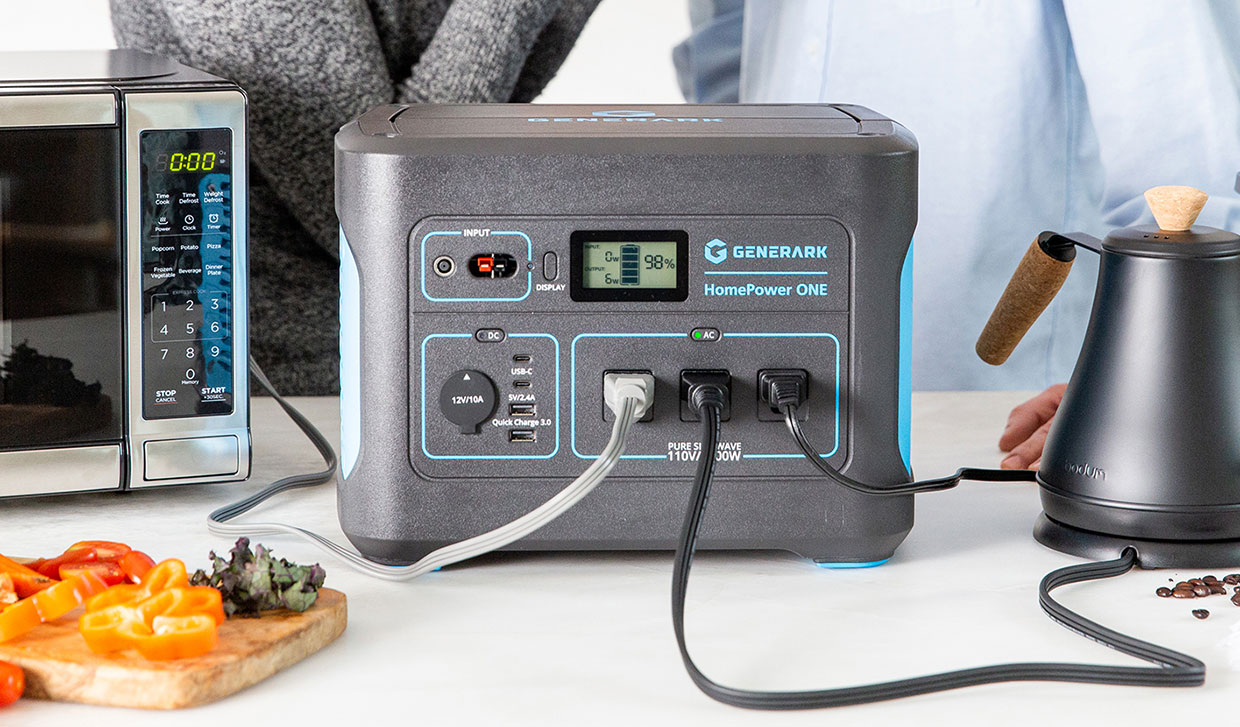 HomePower ONE Backup Battery Power Station