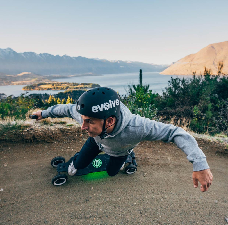 Evolve Hadean Carbon All-Terrain Electric Skateboard