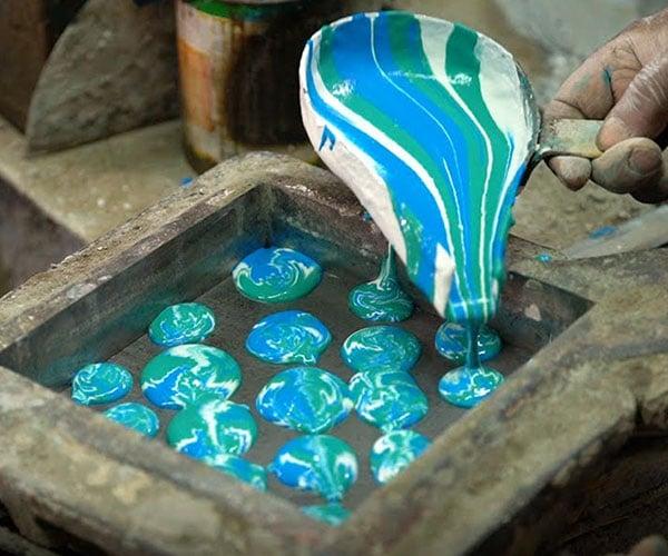Handmaking Cement Tiles