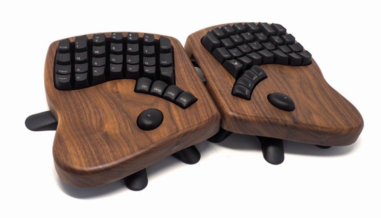 Keyboardio Model 100 Ergonomic Keyboard