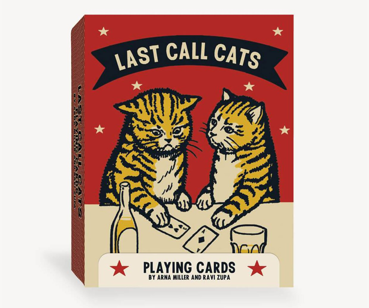 Last Call Cats Playing Cards