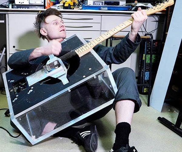 Leslie Speaker Guitar