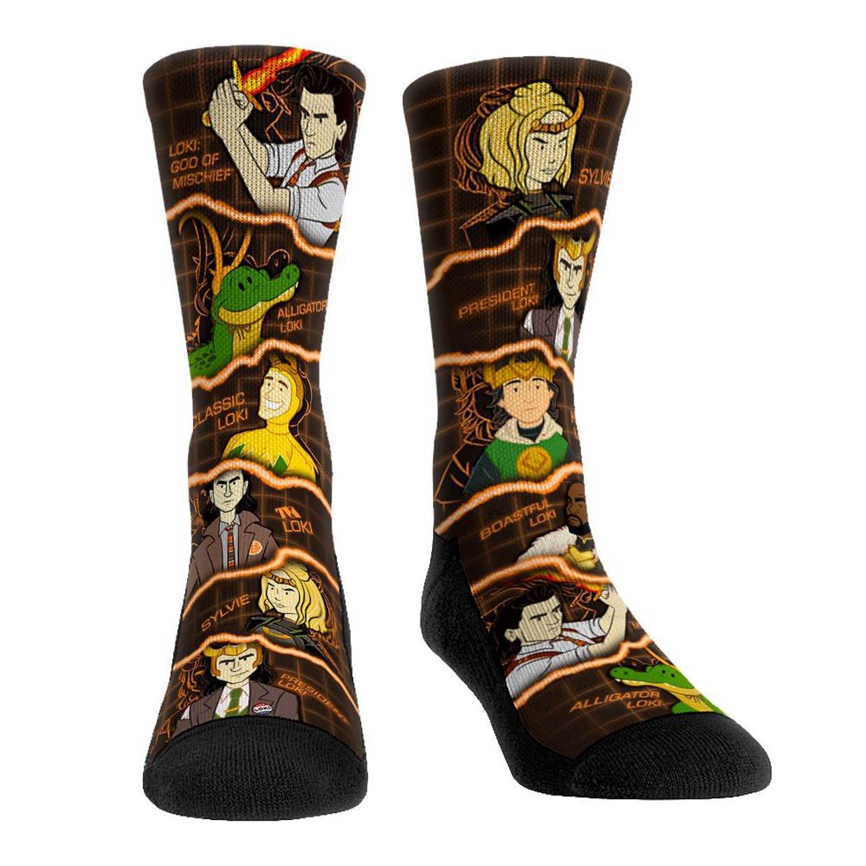 Loki Rock 'Em Socks