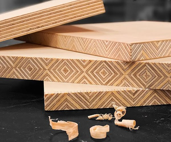 Making Patterned Edge-Grain Plywood