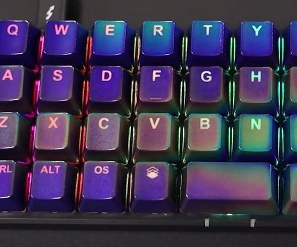 Making a Mood Ring Keyboard
