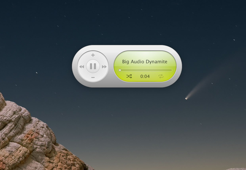Music Widget for MacOS