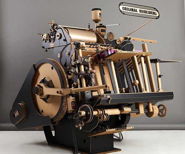 Papercraft Heidelberg Letterpress