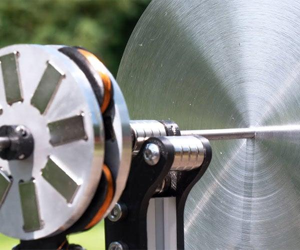 Magnetic Flywheel Generator