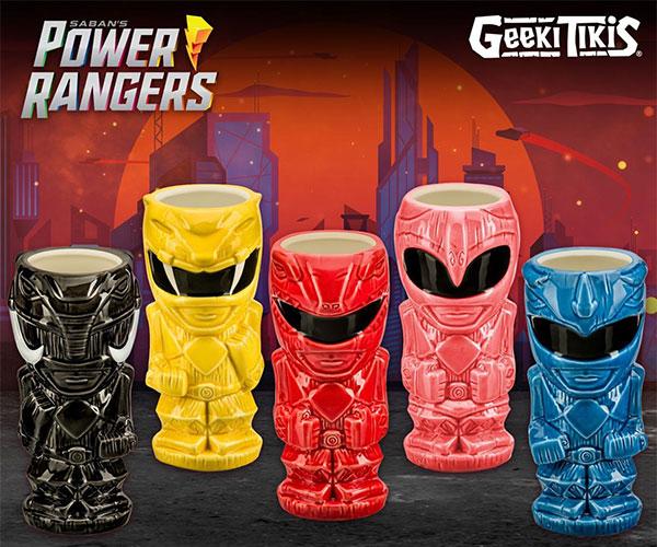 Power Rangers Geeki Tikis