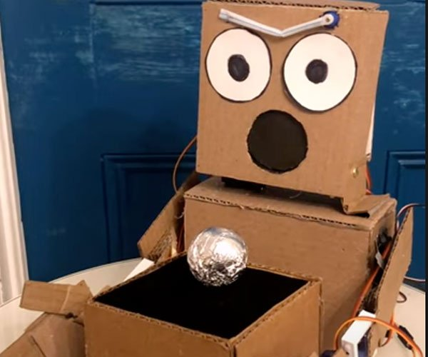 Robot Does Magic Tricks