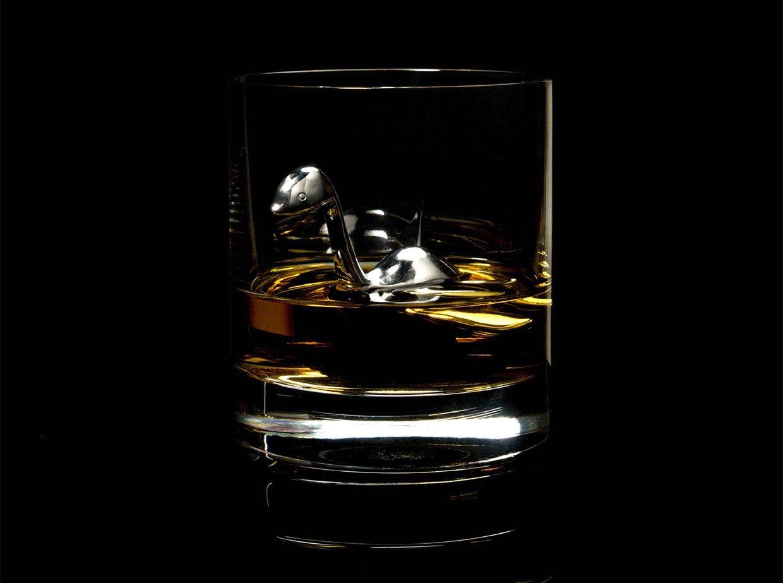 Scotch Ness Monster Whiskey Chilling Stone