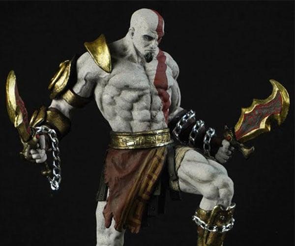 Sculpting Kratos