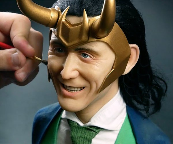 Sculpting Loki