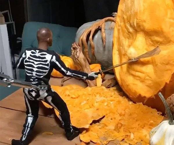 Making a Stop-Motion Animation for Will Smith