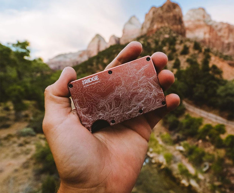The Ridge Topographic Wallets