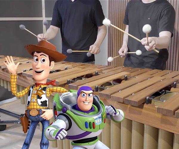 You've Got a Friend in Marimba