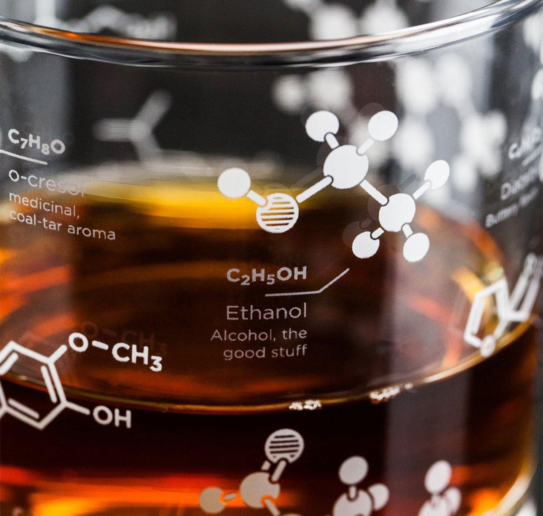 Whiskey Chemistry Rocks Glasses