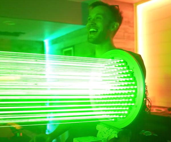 World's Largest Laser Pointer