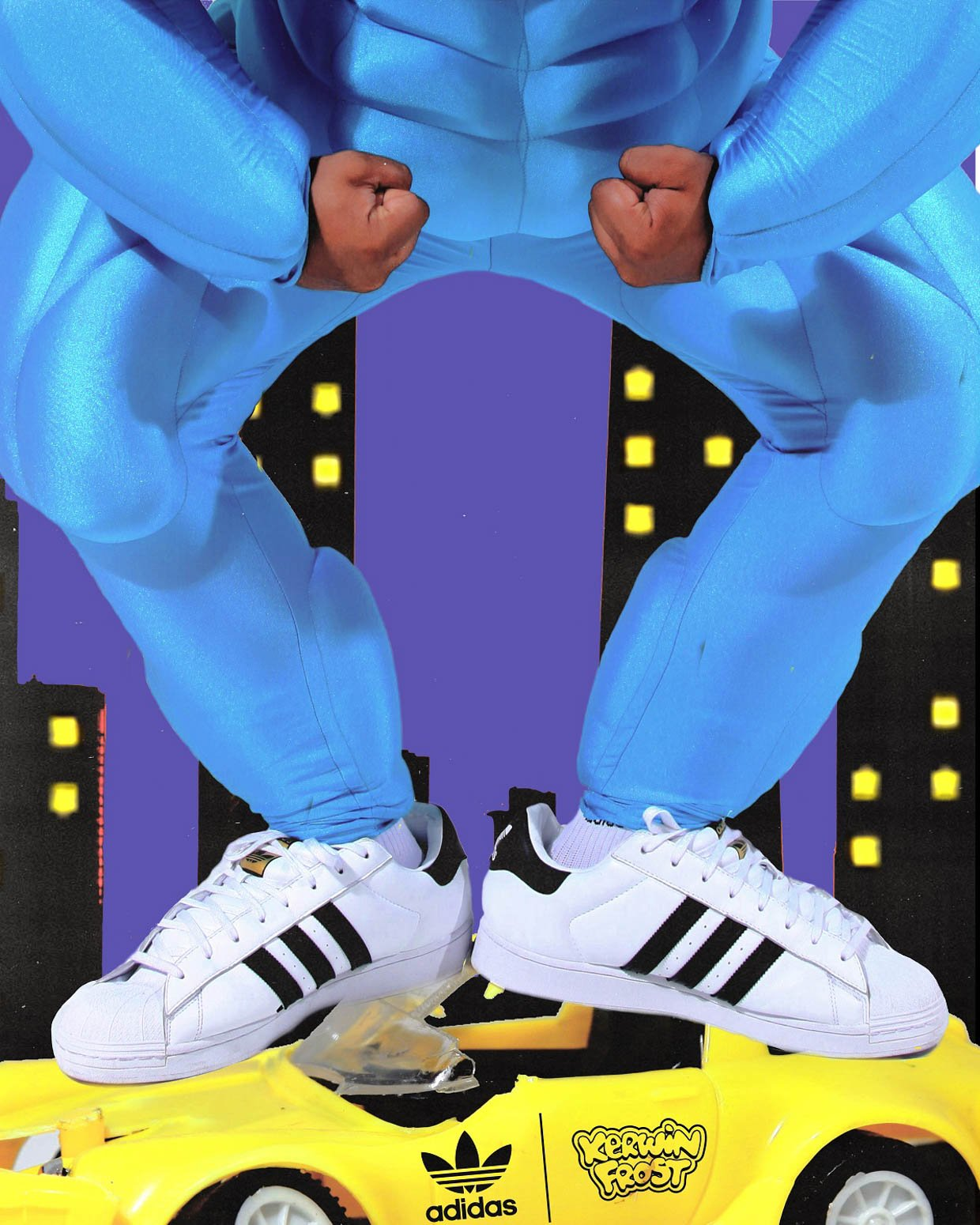 adidas Originals x Kerwin Frost Superstuffed Sneakers