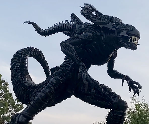 Alien King Tire Sculpture