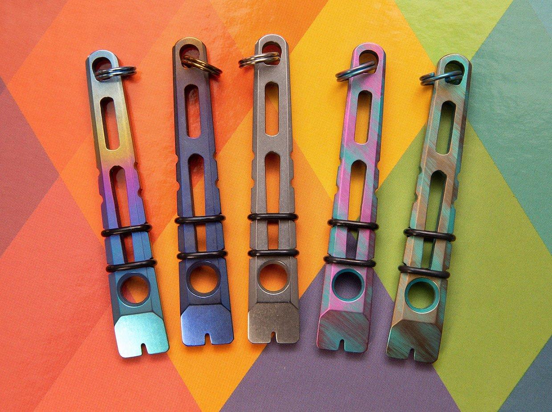Titanium HR Micro Pry Bar