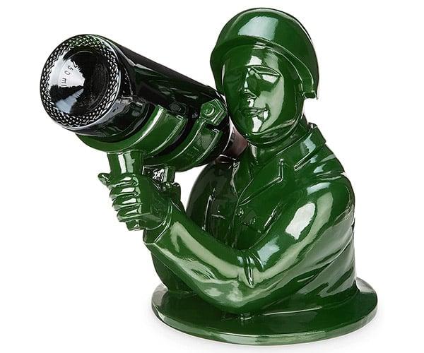 Army Man Wine Bottle Holder
