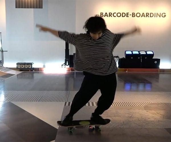 Barcode Skateboarding