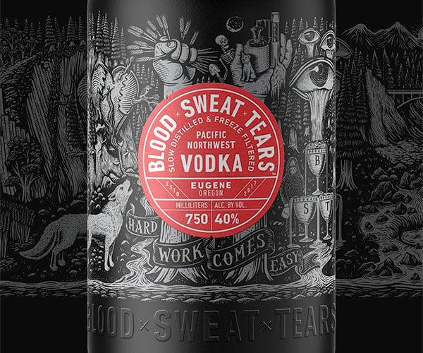 Blood + Sweat + Tears Vodka