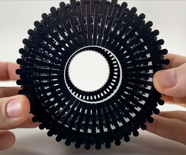 Brick Bending a LEGO Wheel