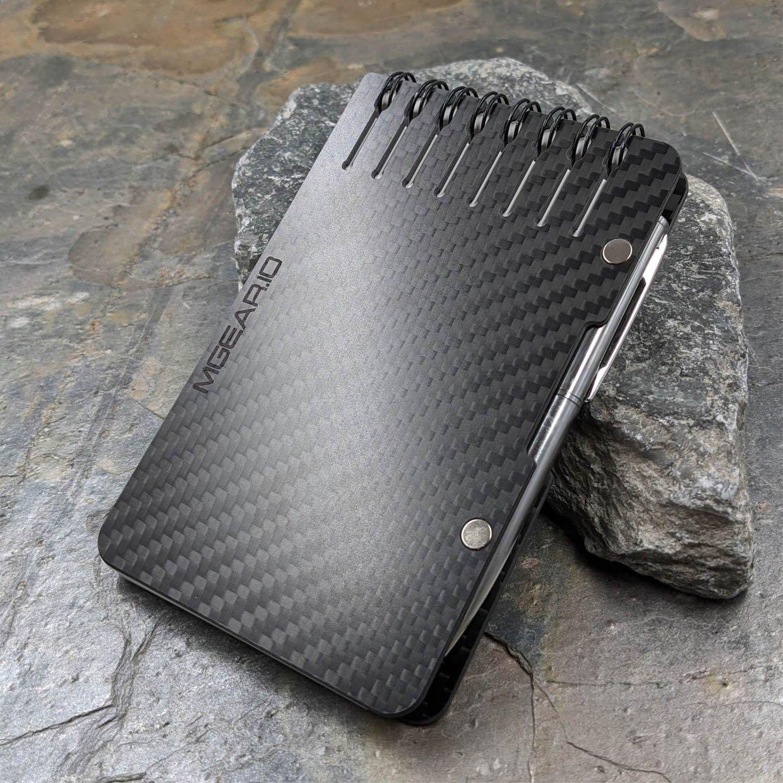 Carbon Fiber Waterproof Notebook