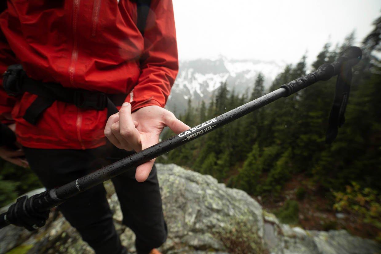Ultralight Carbon Fiber Trekking Poles