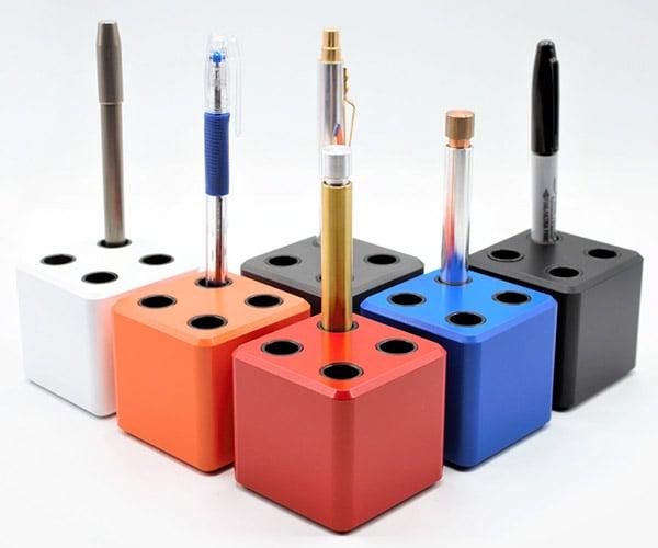 Cerakoted Aluminum Pen Holders