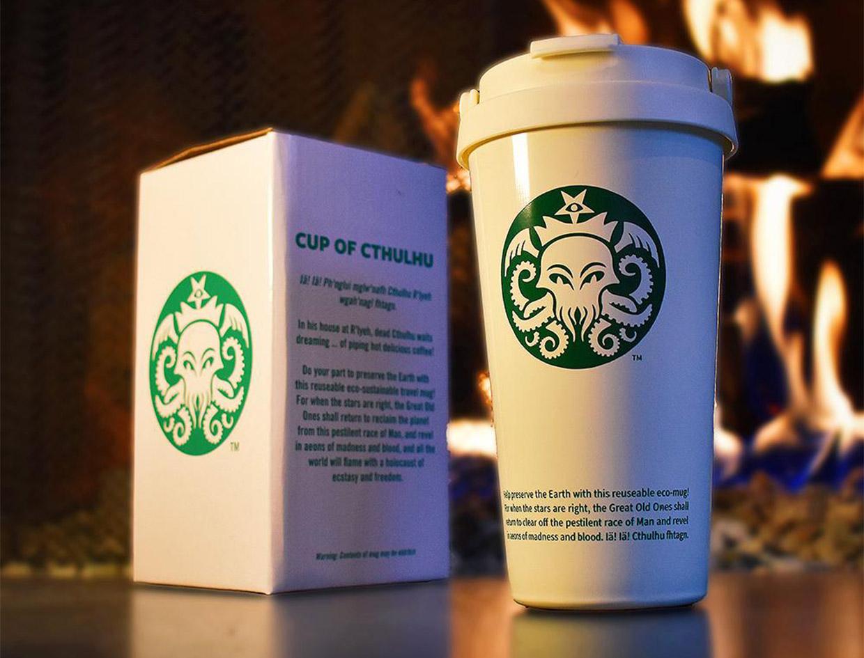 The Cup of Cthulhu Travel Mug