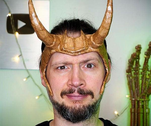 DIY Cardboard Loki Horns