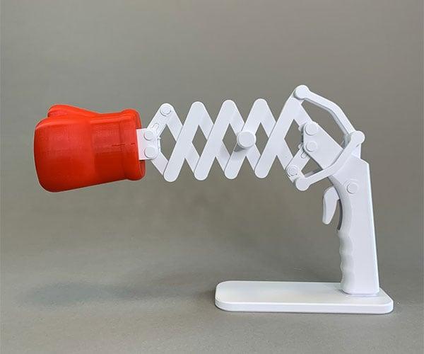 Making an Extendible Boxing Glove
