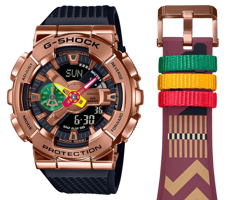 G-SHOCK x Rui Hachimura GM-110RH Watch
