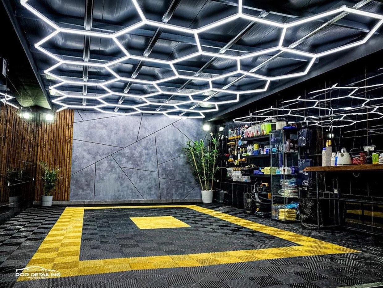 Hexa-LED Honeycomb Ceiling Lights